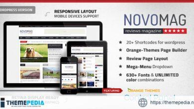Novomag – News Magazine Theme [Free download]