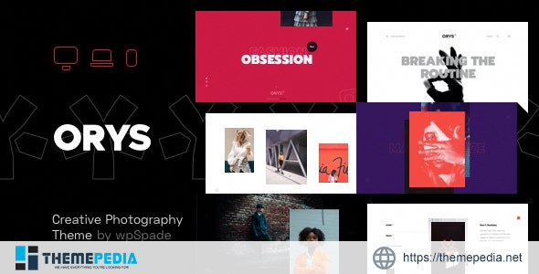 Orys – Creative Photography Theme [nulled]