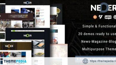 Neder – WordPress News Magazine and Blog Theme [Updated Version]