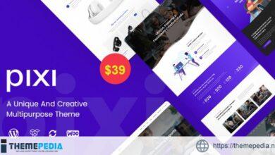 Pixi – Creative Multi-Purpose WordPress Theme [Free download]