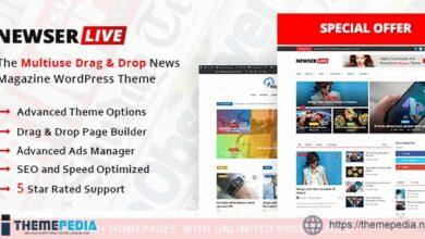 Newser – Newspaper & Magazine WordPress Theme [Free download]