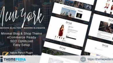 New York – WordPress Blog & Shop Theme [nulled]