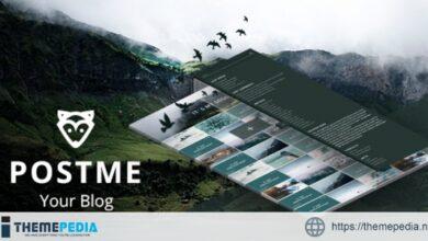 Opossum PostMe Simple WordPress Blogging Theme + RTL [Free download]