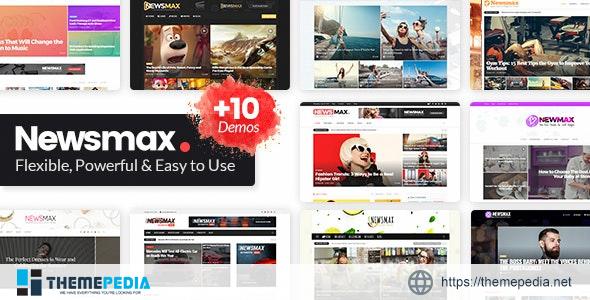 Newsmax – Multi-Purpose News & Magazine Theme [Free download]
