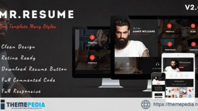 Morgan – Resume, vCard, Personal, Profile and Portfolio WP Theme [Updated Version]