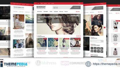 Newsright – WordPress Premium HD News & Magazine [Updated Version]