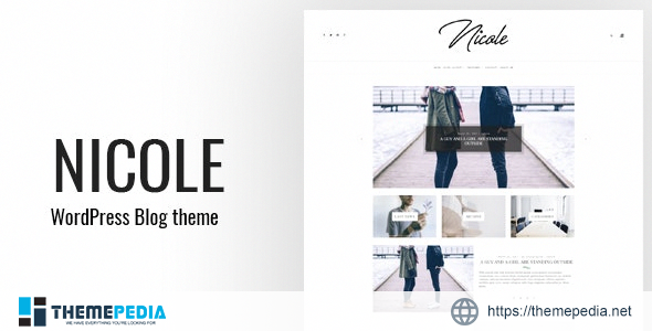 Nicole – Clean WordPress Blog Theme [Updated Version]