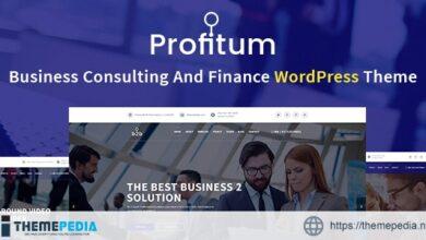Profitum – Business & Finance WordPress Theme [Free download]
