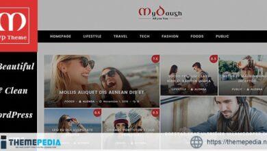 Mydaugh – A WordPress Blog & Magazine Theme [Latest Version]