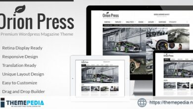 Orion Press – Retina and Responsive Magazine Theme [nulled]