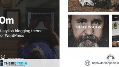 OM – A stylish blogging theme for WordPress [Free download]