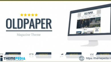 OldPaper – Ultimate Magazine & Blog Theme [Free download]