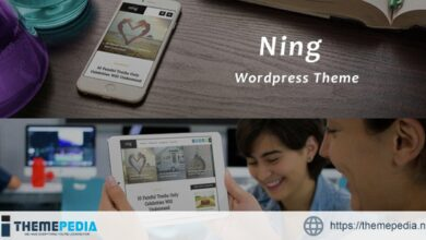 Ning – Personal & Magazine Wordpress Theme [Free download]