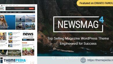 Newsmag – Newspaper & Magazine WordPress Theme [Free download]