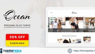 Ocean – Exquisite WordPress Blog [Free download]