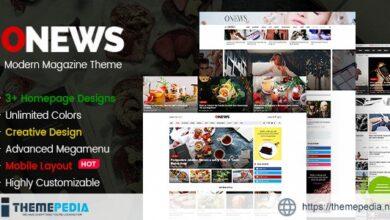 ONews – Modern Newspaper & Magazine Theme WordPress (Mobile Layout Ready) [Free download]
