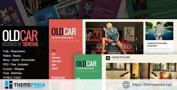 OldCar – Responsive Blog & Grid WordPress Theme [Free download]