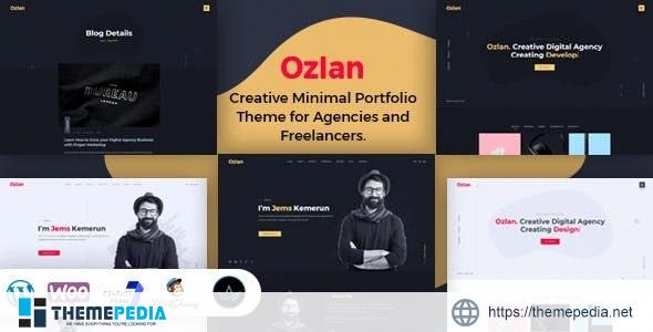 Ozlan -Minimal Portfolio WordPress Theme [Free download]