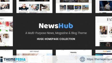Newshub – Magazine & News Portal Theme [Free download]