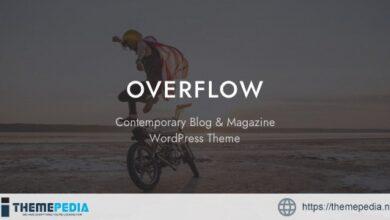 Overflow – Contemporary Blog & Magazine WordPress Theme [Free download]