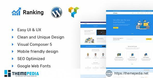 Ranking – Marketing & SEO WordPress theme [Free download]