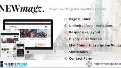 NewMagz – WordPress Magazine Theme [Free download]