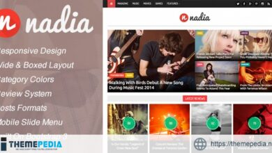 Nadia – Responsive WordPress News Theme [Free download]