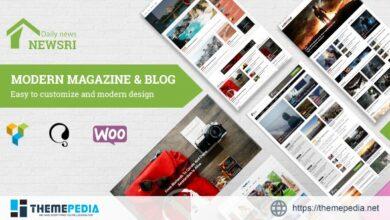 Newsri – WordPress Magazine Theme [Updated Version]