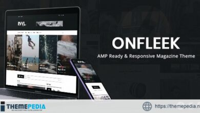 Onfleek – AMP Ready and Responsive Magazine Theme [Latest Version]