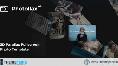 Photollax – Creative Photography WordPress Theme [Free download]