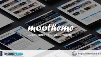 Mootheme – Tech Blog WordPress Theme [Free download]
