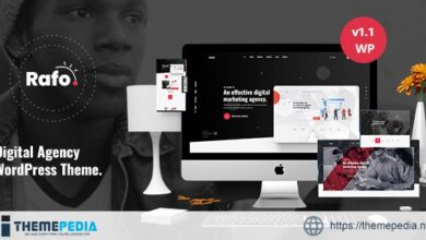 Rafo – Digital Agency WordPress Theme [nulled]