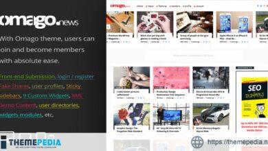 Omago News – User Profile Membership & Content Sharing Theme [Latest Version]
