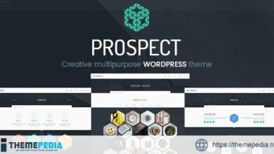 Prospect – Creative Multipurpose WordPress Theme [Free download]