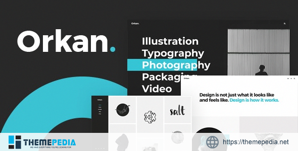 Orkan – Artist and Design Agency Portfolio Theme [Free download]