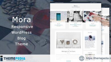 Mora – Responsive WordPress Blog Theme [Free download]