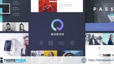 Qudos – Portfolio & Agency [Free download]