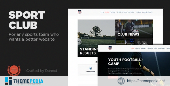 Sport Club – AWP Theme For Your Small, Local Team [Free download]