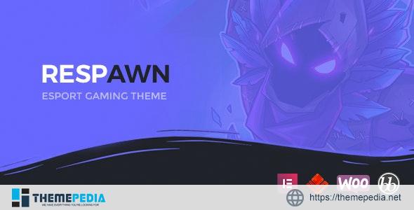 Respawn – Esports Gaming WordPress Theme [Free download]