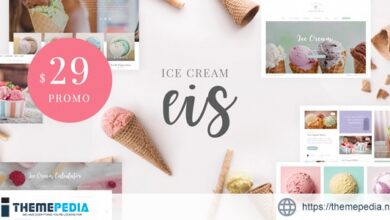 Eis – Ice Cream Shop WordPress Theme [Latest Version]