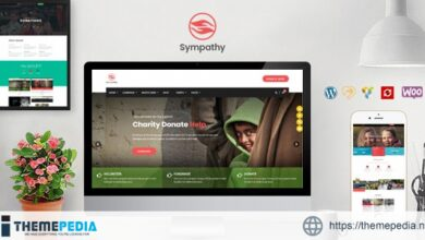 Sympathy – Charity WordPress Theme [Free download]