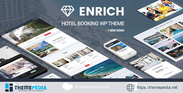 Enrich – Hotel Booking WordPress Theme [nulled]