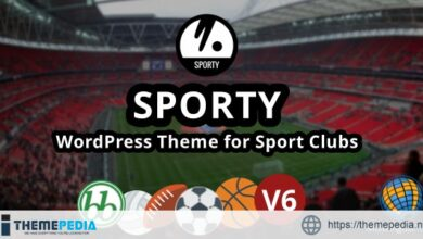 SPORTY-Responsive WordPress Theme for Sport Clubs [Free download]