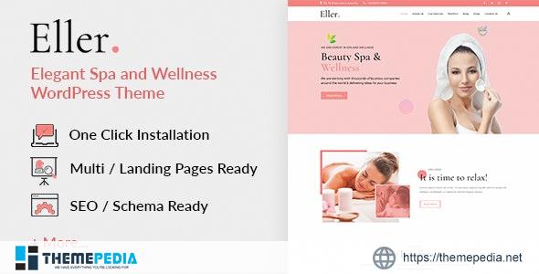 Eller -Elegant Spa & WellnessWordPress Theme [Free download]