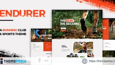 Endurer – Running Club and Sports Theme [Free download]