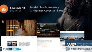 Samadhi – Oriental Buddhist Temple WordPress Theme [Free download]