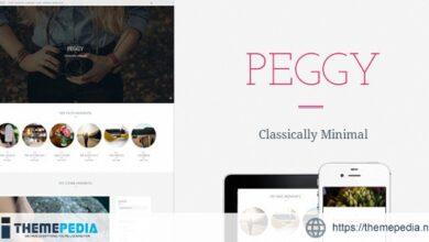 Peggy – A Responsive WordPress Blog Theme [Free download]