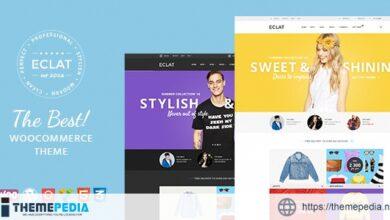 Eclat – Responsive Multipurpose WooCommerce Theme [Free download]