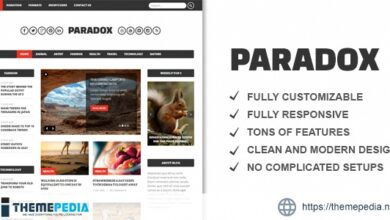 Paradox Premium WordPress Magazine [Free download]
