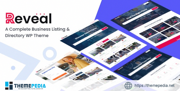 Reveal – Directory & Listing WordPress Theme [nulled]